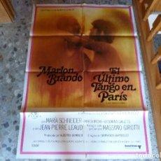 Cine: POSTER DE EL ULTIMO TANGO EN PARIS. Lote 95813691