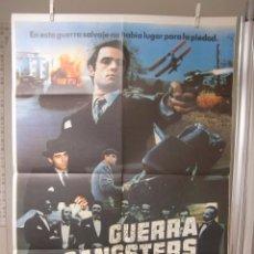 Cine: CARTEL CINE ORIG GUERRA DE GANGSTERS (1981) 70X100 / MICHAEL NOURI / MADELEINE STOWE. Lote 95831899