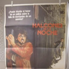 Cine: CARTEL CINE ORIG HALCONES DE LA NOCHE (1981) 70X100 / SYLVESTER STALLONE. Lote 95833939