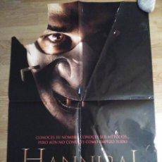 Cine: HANNIBAL - APROX 70X100 CARTEL ORIGINAL CINE (L46). Lote 95846695