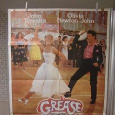 Cine: CARTEL CINE ORIG GREASE (1978) 70X100 / JOHN TRAVOLTA / OLIVIA NEWTON-JOHN. Lote 95862939