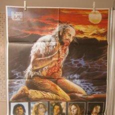 Cine: CARTEL CINE ORIG GOMIA TERROR EN EL MAR EGEO (1980) 70X100 / JOE D'AMATO. Lote 95866267