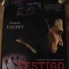 Cine: TESTIGO - APROX 70X100 CARTEL ORIGINAL CINE (L46). Lote 95890475