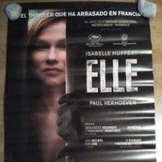 Cine: ELLE - APROX 70X100 CARTEL ORIGINAL CINE (L46). Lote 95890899