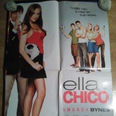 Cine: ELLA ES EL CHICO - APROX 70X100 CARTEL ORIGINAL CINE (L46). Lote 95909151