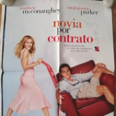 Cine: NOVIA POR CONTRATO - APROX 70X100 CARTEL ORIGINAL CINE (L46). Lote 95909427
