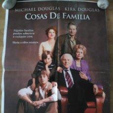 Cine: COSAS DE FAMILIA - APROX 70X100 CARTEL ORIGINAL CINE (L46). Lote 95909711