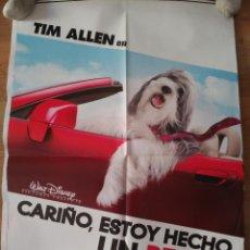 Cine: CARIÑO, ESTOY HECHO UN PERRO - APROX 70X100 CARTEL ORIGINAL CINE (L46). Lote 95909811