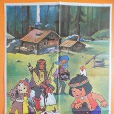 Cine: CARTEL, POSTER CINE - JACKY, EL OSO DE TALLAC - AÑO 1979 ( 66 X 68 CM.) ... R-6973. Lote 95995820