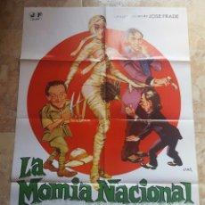 Cine: POSTER ORIGINAL LA MOMIA NACIONAL. Lote 96025751