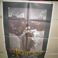 Cine: EXTRAMUROS CARMEN MAURA POSTER ORIGINAL 70X100 YY(1630). Lote 96051987