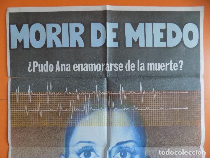 Cine: CARTEL, POSTER CINE - MORIR DE MIEDO - AÑO 1980 - (70 X 100 CM.)... R-6977 - Foto 2 - 96056231