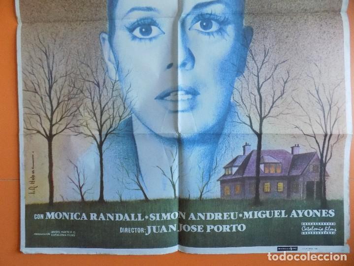 Cine: CARTEL, POSTER CINE - MORIR DE MIEDO - AÑO 1980 - (70 X 100 CM.)... R-6977 - Foto 3 - 96056231