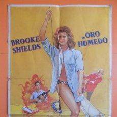 Cine: CARTEL, POSTER CINE - ORO HUMEDO - AÑO 1989.. R-6978. Lote 96059599
