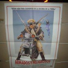 Cinéma: ARMADOS Y PELIGROSOS JOHN CANDY MEG RYAN POSTER ORIGINAL 70X100 YY(1646). Lote 96062459