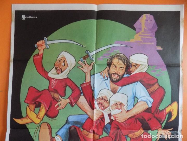 Cine: CARTEL, POSTER CINE - ZAPATONES - ( BUD SPENCER) - AÑO 1980... R-6980 - Foto 2 - 96062535
