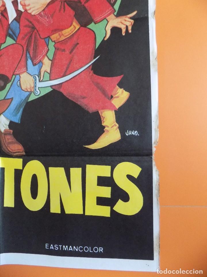 Cine: CARTEL, POSTER CINE - ZAPATONES - ( BUD SPENCER) - AÑO 1980... R-6980 - Foto 6 - 96062535