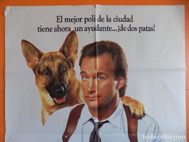Cine: CARTEL, POSTER CINE - SUPER AGENTE K-9 - AÑO 1989.. R-6981 - Foto 2 - 96063155