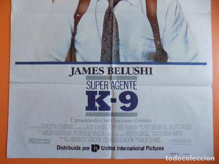Cine: CARTEL, POSTER CINE - SUPER AGENTE K-9 - AÑO 1989.. R-6981 - Foto 3 - 96063155