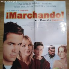 Cine: MARCHANDO - APROX 70X100 CARTEL ORIGINAL CINE (L47). Lote 96162107