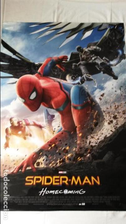 PÓSTER ORIGINAL DE SPIDERMAN HOMECOMING (Cine - Posters y Carteles - Acción)