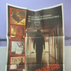 Cine: CARTEL DE CINE. ¡¡ SANGUINARIO!!. ZAFIRO FILMS. 69 X 100 CM. VER FOTOGRAFIAS ADJUNTAS. Lote 96397663