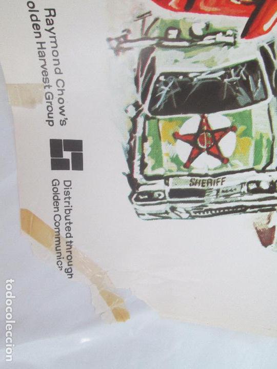 Cine: CARTEL DE CINE. LOS LOCOS DE CANNONBALL. LAUREN FILMS. 69 X 100 CM. VER FOTOGRAFIAS ADJUNTAS - Foto 3 - 96428619