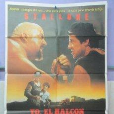 Cine: CARTEL DE CINE. YO, EL HALCON. IZARO FILMS. 1987. 69 X 100 CM. VER FOTOGRAFIAS ADJUBTAS. Lote 96456591