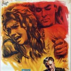 Cine: PECADO DE JUVENTUD. ARTURO DE CORDOVA-M. DE LA SERNA. CARTEL ORIGINAL 1964. 70X100. Lote 96574063