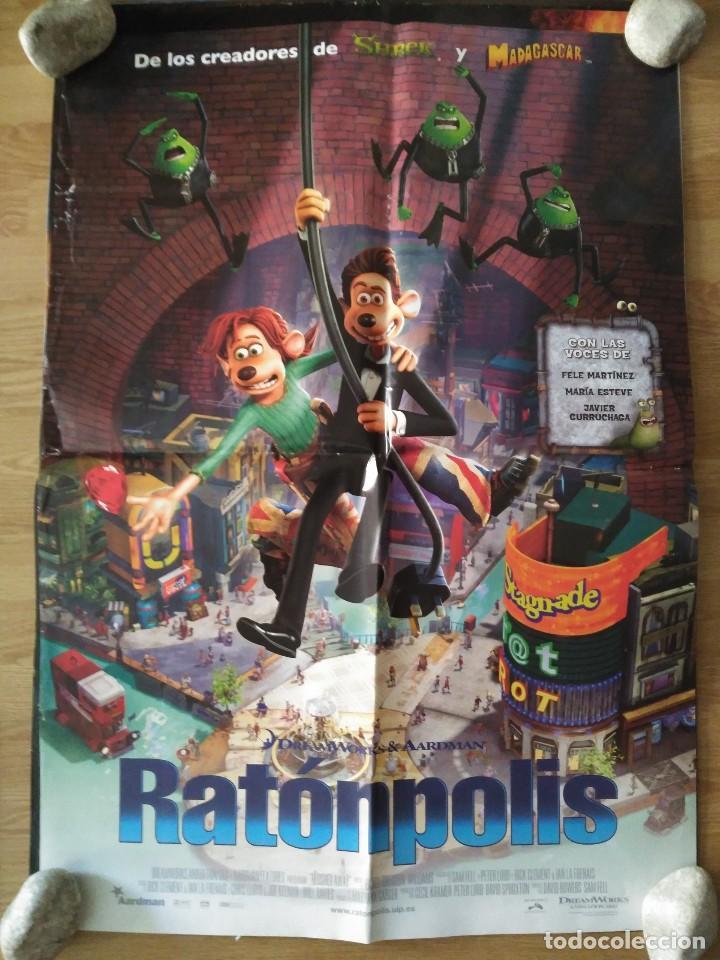 RATONPOLIS - APROX 70X100 CARTEL ORIGINAL CINE (L47) (Cine - Posters y Carteles - Infantil)