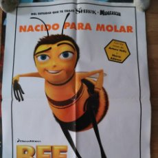 Cine: BEE MOVIE - APROX 70X100 CARTEL ORIGINAL CINE (L47). Lote 96611279