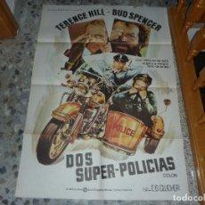 Cine: POSTER DE DOS SUPER- POLICIAS. Lote 96614683