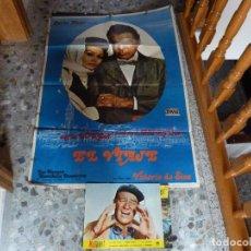 Cinema: POSTER DE EL VIAJE + 8 POSTALES DE HATARI !. Lote 96617207