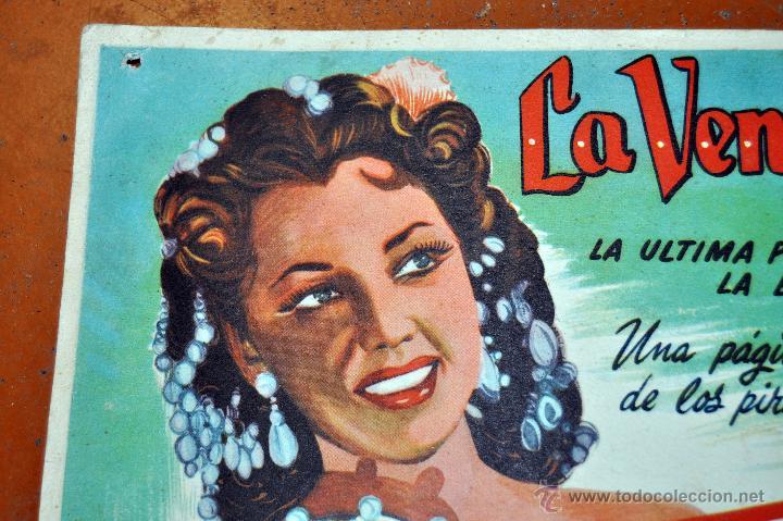 Cine: CARTEL LA VENGANZA DEL CORSARIO, 1951 - Foto 2 - 96669107