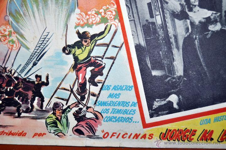 Cine: CARTEL LA VENGANZA DEL CORSARIO, 1951 - Foto 3 - 96669107