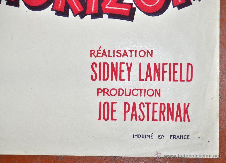 Cine: DES JUPONS A LHORIZON 1952 AFFICHES GAILLARD. PARIS. FALDAS A BORDO - Foto 3 - 96670267