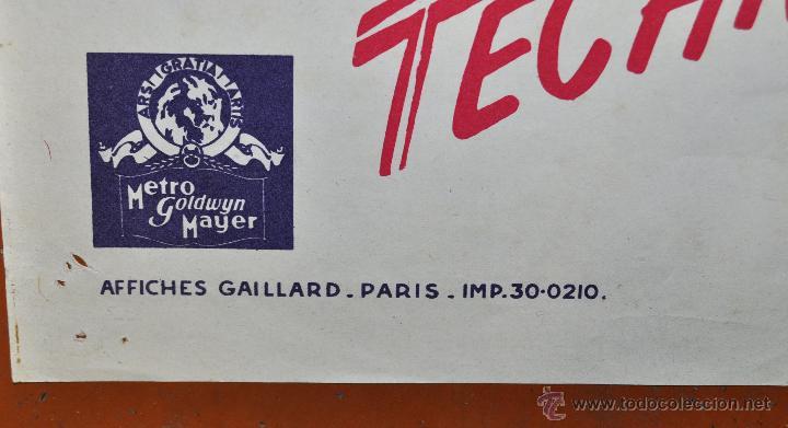 Cine: DES JUPONS A LHORIZON 1952 AFFICHES GAILLARD. PARIS. FALDAS A BORDO - Foto 5 - 96670267