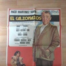 Cine: B-POSTER DE CINE MAS LA GUIA DE LA PELICULA--EL CALZONAZOS. Lote 96683199