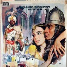 Cine: SCHEHEREZADE. JORGE MISTRAL CARTEL ORIGINAL 1963. 70X100. Lote 96689455