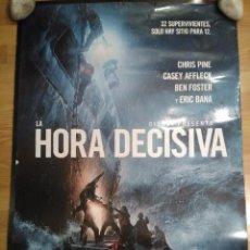 Cine: LA HORA DECISIVA - APROX 70X100 CARTEL ORIGINAL CINE (L48). Lote 96840443