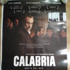 Cine: CALABRIA, MAFIA DEL SUR - APROX 70X100 CARTEL ORIGINAL CINE (L48). Lote 96910167