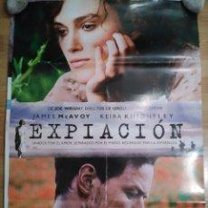 Cine: EXPIACIÓN - APROX 70X100 CARTEL ORIGINAL CINE (L48). Lote 96910471