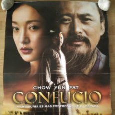 Cine: CONFUCIO - APROX 70X100 CARTEL ORIGINAL CINE (L48). Lote 96911471