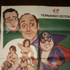 Cine: CINE ERÓTICO EL ERÓTICO ENMASCARADO FERNANDO ESTESO. Lote 96966595