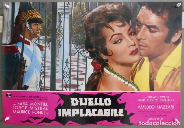 XX56 CARMEN LA DE RONDA SARA MONTIEL JORGE MISTRAL ESPECTACULAR SET 10 POSTERS ORIG ITALIANO 47X68 (Cine - Posters y Carteles - Clasico Español)