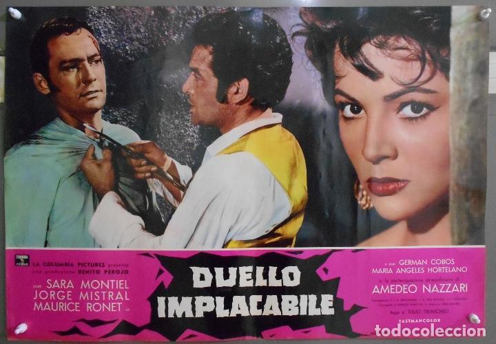 Cine: XX56 CARMEN LA DE RONDA SARA MONTIEL JORGE MISTRAL ESPECTACULAR SET 10 POSTERS orig ITALIANO 47X68 - Foto 2 - 97230851
