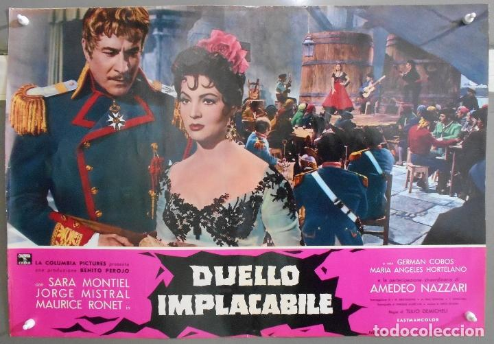 Cine: XX56 CARMEN LA DE RONDA SARA MONTIEL JORGE MISTRAL ESPECTACULAR SET 10 POSTERS orig ITALIANO 47X68 - Foto 3 - 97230851