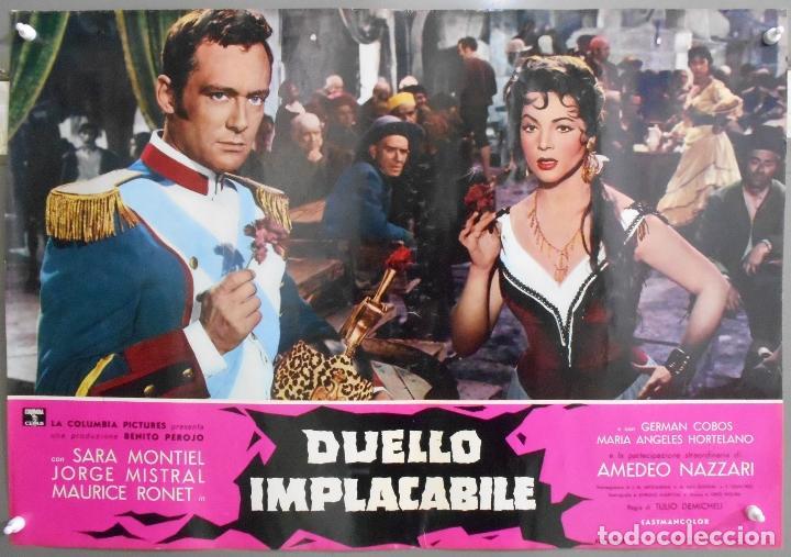 Cine: XX56 CARMEN LA DE RONDA SARA MONTIEL JORGE MISTRAL ESPECTACULAR SET 10 POSTERS orig ITALIANO 47X68 - Foto 4 - 97230851