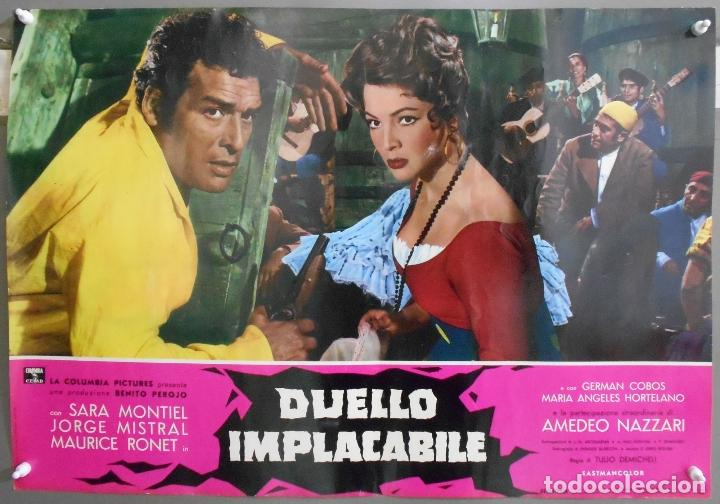 Cine: XX56 CARMEN LA DE RONDA SARA MONTIEL JORGE MISTRAL ESPECTACULAR SET 10 POSTERS orig ITALIANO 47X68 - Foto 5 - 97230851