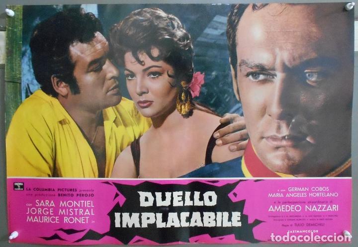 Cine: XX56 CARMEN LA DE RONDA SARA MONTIEL JORGE MISTRAL ESPECTACULAR SET 10 POSTERS orig ITALIANO 47X68 - Foto 6 - 97230851